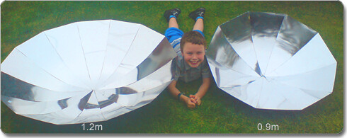 parabolic self build kits