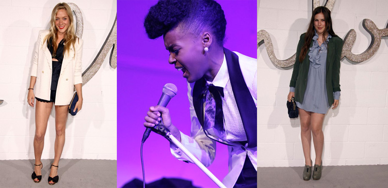 Janelle Monae Played Chloe Boutique Opening in L.A.