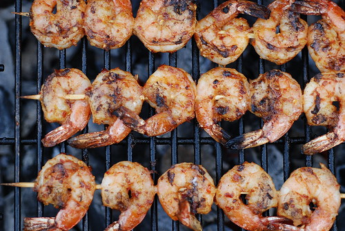 First Shrimp o' the Grilling Season