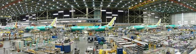 737 Final Assembly Line
