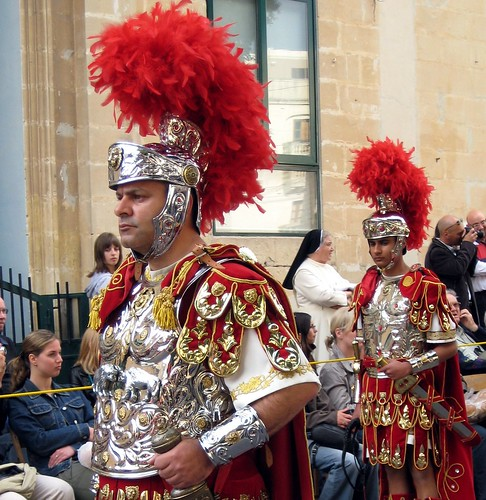 Roman officer in Haz-Zebbug