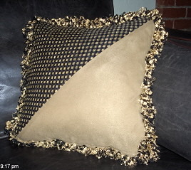 Custom Pillow: Fun and Decorative by curtainsbyjoanne, on Flickr