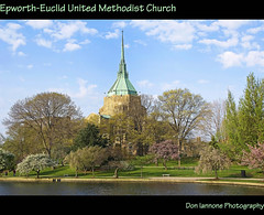 View of Cleveland's University Circle Area (Don Iannone) Tags: ohio lake church spring flickr poem cleveland explore frontpage springtime universitycircle severancehall casewesternreserveuniversity clevelandorchestra treeblossoms imagepoetry beautifulscene epwortheuclidunitedmethodistchurch april2009 doniannone gpec doniannonephotography nikond2xcamera clevelandqualityoflife