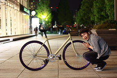 BARE KNUCLE ??? (sgym_) Tags: japan fixie fixedgear yokohama pist njs yoohama