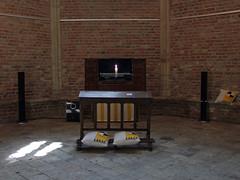 Calvijn Karaoke in Middelburg (by_irma) Tags: music kunst religion psalms middelburg orgel psalm kaars kussen religie langejan calvijn kunstproject psalmenkaraoke calvijnkapel orgelmuziek dieuwkeparlevliet