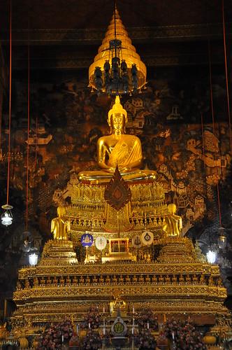 Bangkok temple wats