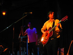 Grizzly Bear @ The Plaza Club 1 (allislost) Tags: music vancouver concert guitar live band microphone grizzlybear plazaclub eddroste danielrossen