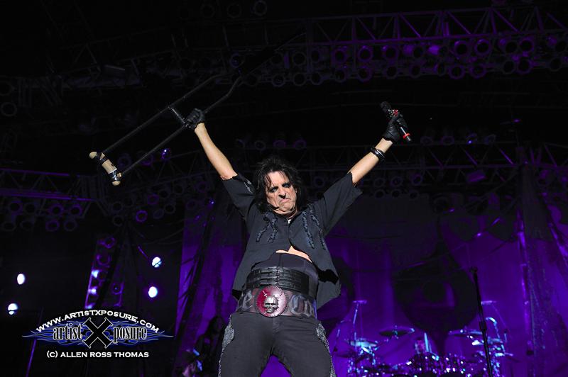 Alice Cooper live photo