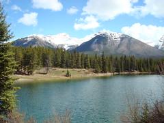 Johnson Lake (nettie1) Tags: mountains banff banffnationalpark