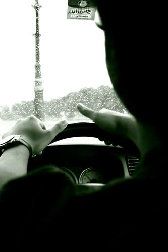 hand-on-steering