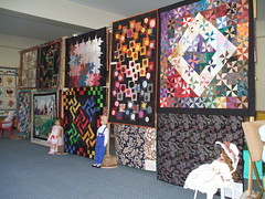 quilts and dolls 010 (sakajowa) Tags: quilt expo sandys aunty