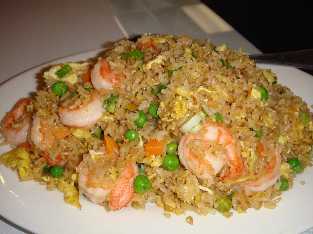 also had Shrimp Fried Rice which impressed me with its moist ...