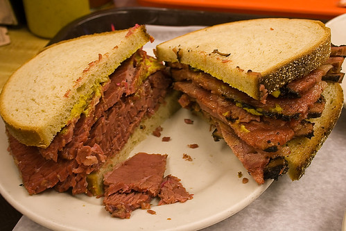 Corned Beef & Pastrami Sandwiches
