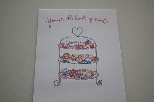 Cupcake card from a dear friend
