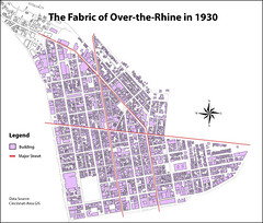 OTR buildings in 1930 (by: Danny Klingler, OTR Foundation)