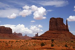 Monument Valley, Utah (J K Johnson) Tags: red sky usa nature beautiful clouds america us interesting sand unitedstates desert natural indian unitedstatesofamerica explore american preserved geology navajo reservation geological jimjohnson jkjohnson