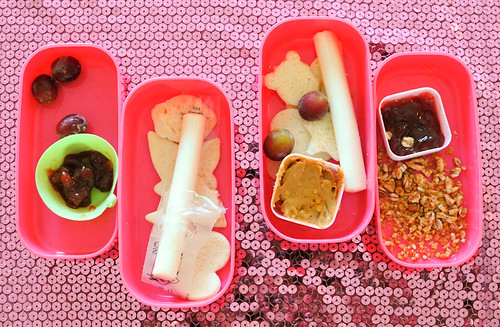 Ro and Ree made their own bento snacks