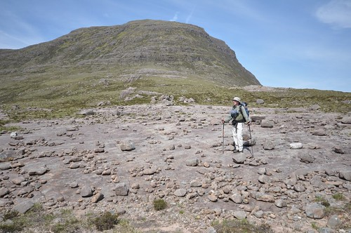 Looking for the breeze below Carn na Feola