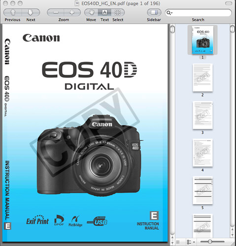 canon 40d manual now available for download rh dpnotes com Photos Taken with a Canon 85Mm F 1.8 Lens Canon in D
