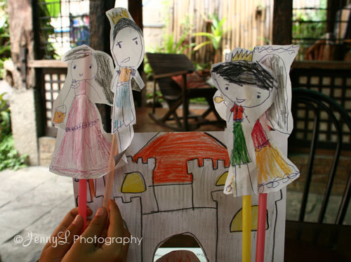 Project 365: Paper Puppet Show