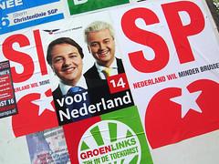 Verkiezingsposter Wilders