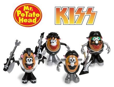 kiss potato head