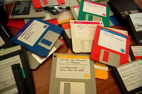 Pile of Old Disks