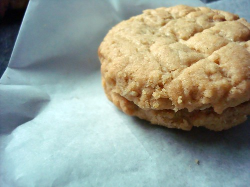 Peanut Butter Cookie Sandwich