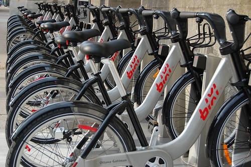 144:365 Bixi bikes