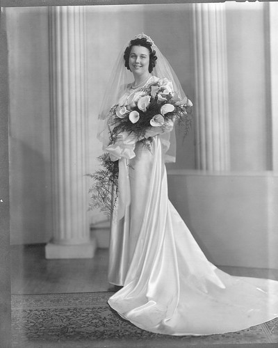 grams on her wedding day