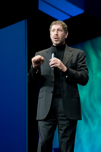 "Larry Ellison, General Session ""Java: Change (Y)Our World"" on June 2, JavaOne 2009 San Francisco"
