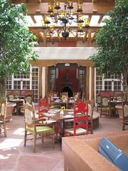 Restaurant in La Fonda (fraugrau) Tags: fe sante