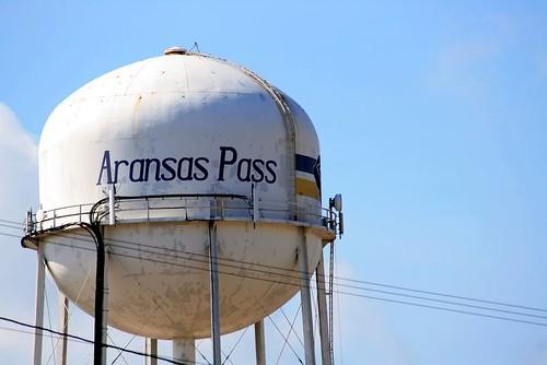 Water Tower - Aranasa Pass Shrimporee Parade