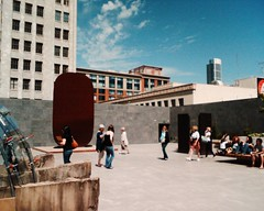Roof top garden at sf moma