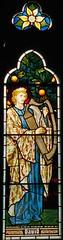 King David, Waterford (robin.croft) Tags: stainedglass harp waterford hertfordshire preraphaelite kingdavid burnejones morrisco