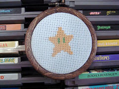 Starman (benjibot) Tags: crossstitch crafts videogames nes supermariobros