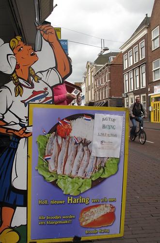 Dutch Haring lady