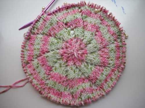 Pinwheel Blanket in progress