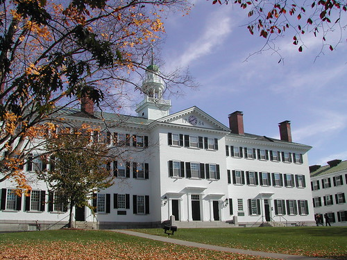 how to get into dartmouth college