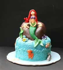 Mermaid (Toni....) Tags: ocean sea fish ariel cake sealife toni mermaid fondant