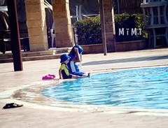 Having Fun (M ï M ï) Tags: boy summer baby pool girl swimming fun happy funny day child jordan having