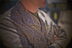 Marine officers keep their ranks polished. (KVNFILM) Tags: music rock stone puddle war kevin ryan doug iraq christian soldiers cw kuwait wes scantlin troops mwr mudd warzone ardito maistros yerdon