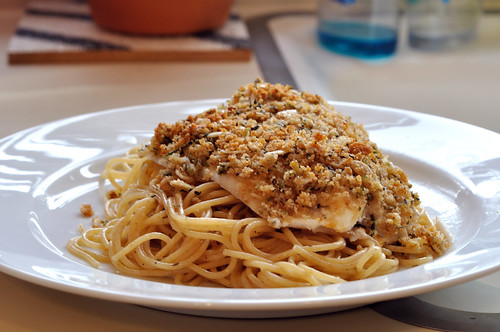 Parmesan crusted tilapia olive garden