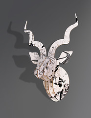 Kraft kudu head