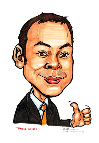 caricature for Oldendorff Carriers Singapore Pte Ltd