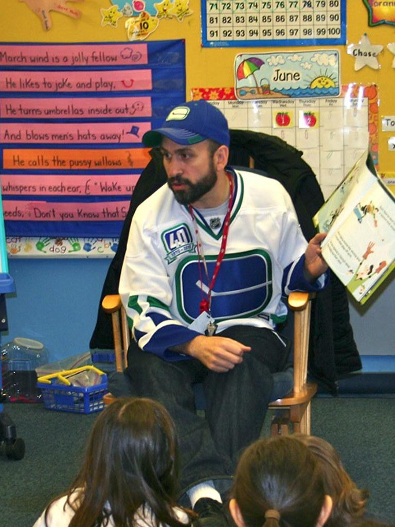 Playoff Beard / Hockey Day In Kindergarten