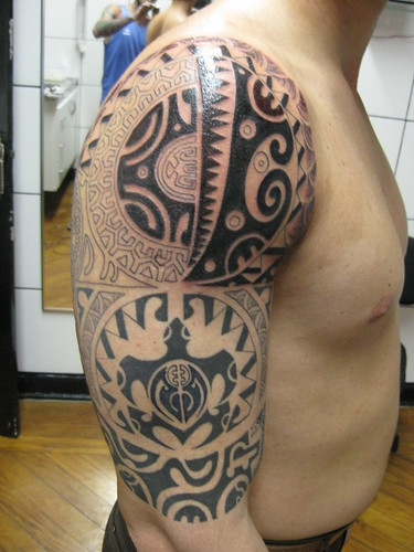 Maori Tattoos - Ta Moko: Maori tattoos or ta moko the traditional tattoos of