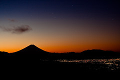 Fuji Dawn (TheJbot) Tags: longexposure cloud mountain japan sunrise japanese fuji startrails jbot elitephotography thejbot kablau mountainsnaps
