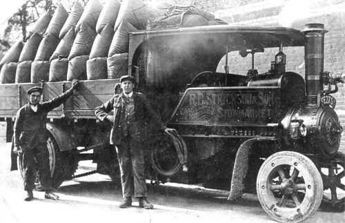 steam lorry stow