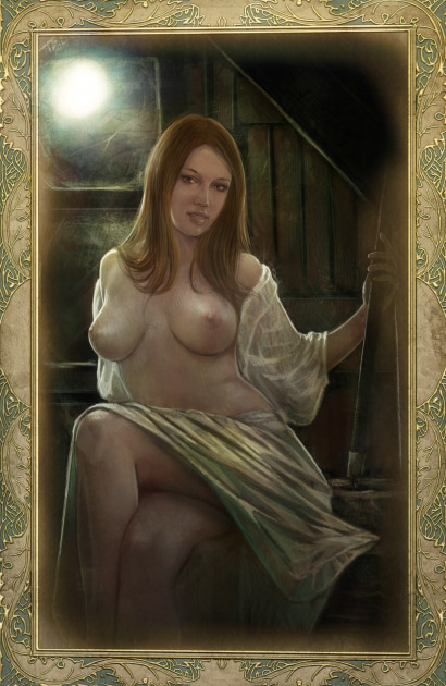 the witcher getting sex cards